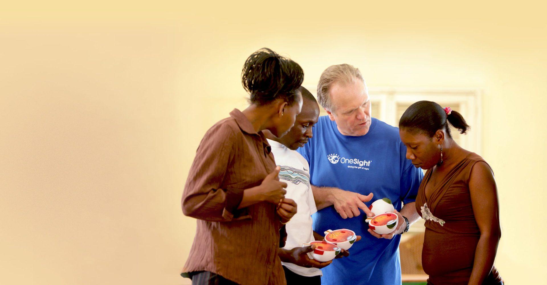 OneSight Volunteers and Beneficiaries